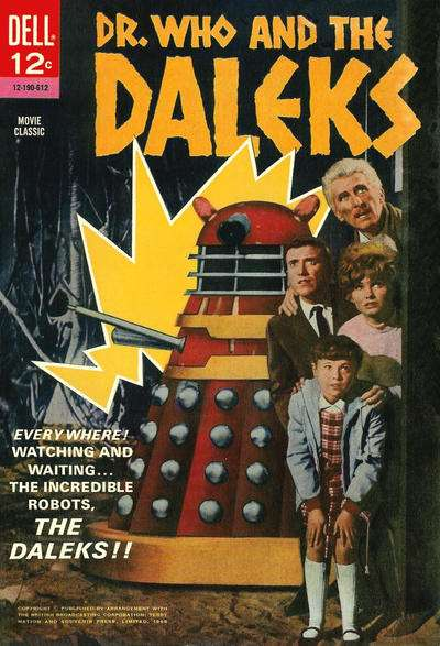 Dr. Who and the Daleks Comic Books. Dr. Who and the Daleks Comics.