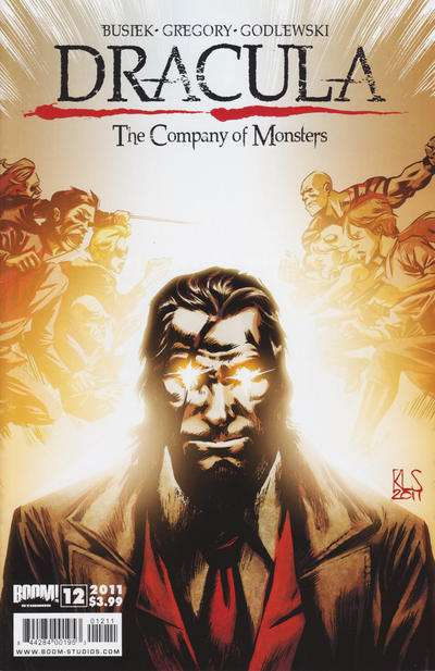 Dracula: The Company of Monsters #12 comic books for sale