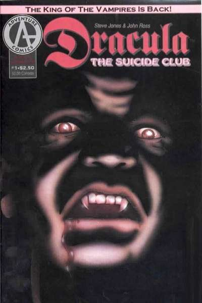 Dracula: The Suicide Club comic books