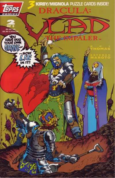 Dracula: Vlad the Impaler #2 Comic Books - Covers, Scans, Photos  in Dracula: Vlad the Impaler Comic Books - Covers, Scans, Gallery