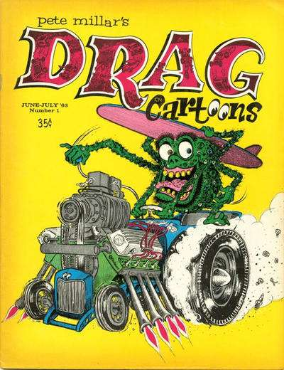 Drag Cartoons comic books