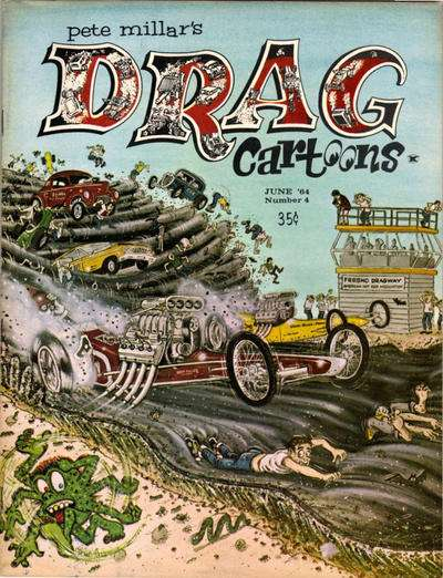 Drag Cartoons #4 comic books - cover scans photos Drag Cartoons #4 comic books - covers, picture gallery
