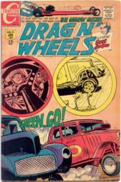 Drag 'N' Wheels #32 Comic Books - Covers, Scans, Photos  in Drag 'N' Wheels Comic Books - Covers, Scans, Gallery