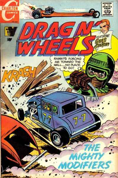 Drag 'N' Wheels #38 Comic Books - Covers, Scans, Photos  in Drag 'N' Wheels Comic Books - Covers, Scans, Gallery