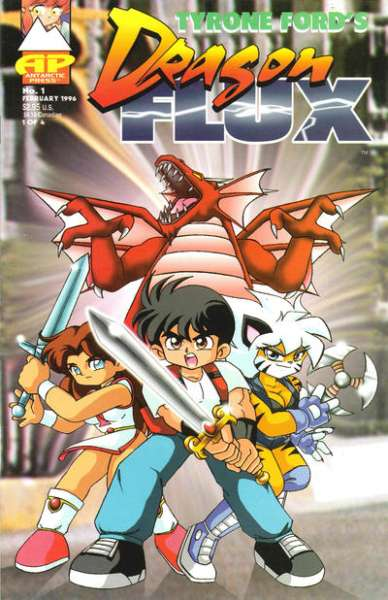 Dragon Flux comic books
