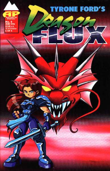 Dragon Flux #2 Comic Books - Covers, Scans, Photos  in Dragon Flux Comic Books - Covers, Scans, Gallery