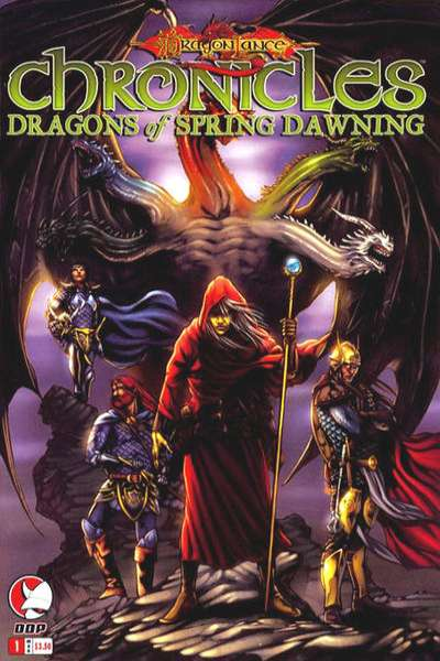 Dragonlance Chronicles: Dragons of Spring Dawning comic books