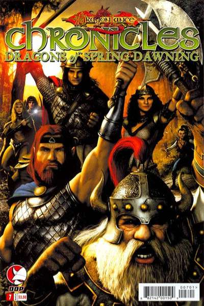 Dragonlance Chronicles: Dragons of Spring Dawning #7 comic books for sale