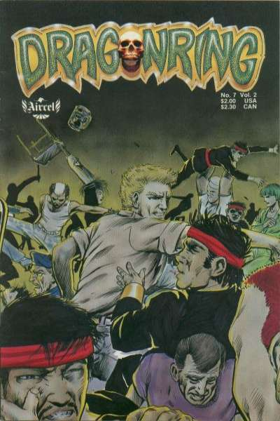 Dragonring #7 comic books for sale