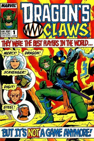Dragon's Claws #1 Comic Books - Covers, Scans, Photos  in Dragon's Claws Comic Books - Covers, Scans, Gallery