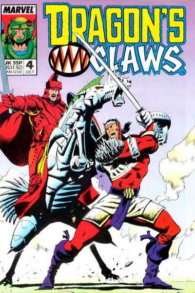 Dragon's Claws #4 Comic Books - Covers, Scans, Photos  in Dragon's Claws Comic Books - Covers, Scans, Gallery