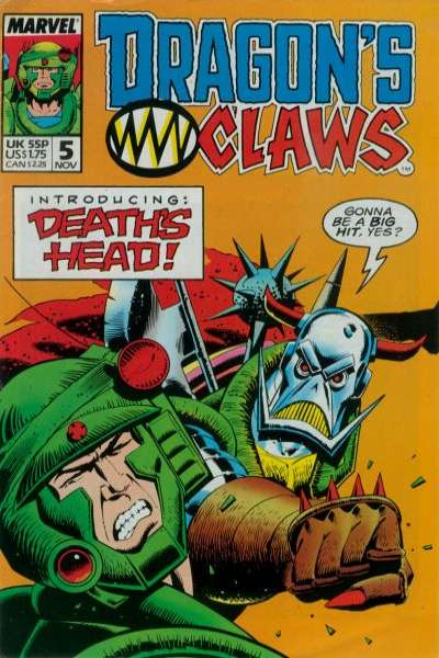 Dragon's Claws #5 Comic Books - Covers, Scans, Photos  in Dragon's Claws Comic Books - Covers, Scans, Gallery