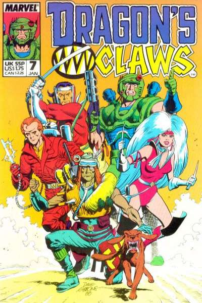 Dragon's Claws #7 Comic Books - Covers, Scans, Photos  in Dragon's Claws Comic Books - Covers, Scans, Gallery