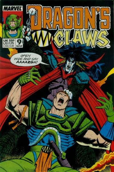 Dragon's Claws #9 Comic Books - Covers, Scans, Photos  in Dragon's Claws Comic Books - Covers, Scans, Gallery