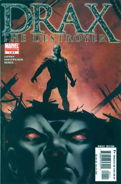 Drax the Destroyer #1 comic books - cover scans photos Drax the Destroyer #1 comic books - covers, picture gallery