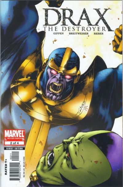 Drax the Destroyer #2 comic books - cover scans photos Drax the Destroyer #2 comic books - covers, picture gallery