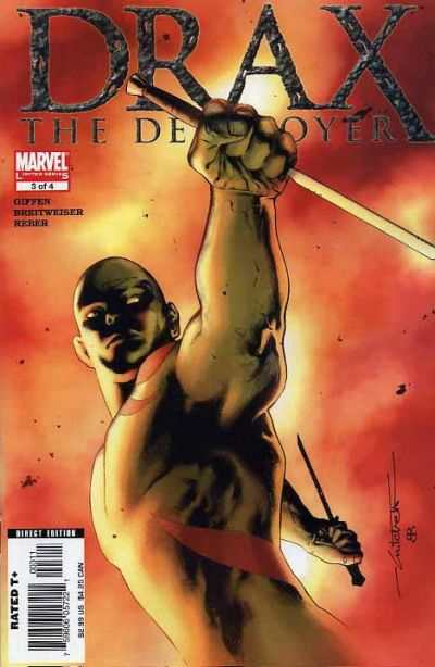 Drax the Destroyer #3 comic books - cover scans photos Drax the Destroyer #3 comic books - covers, picture gallery