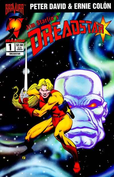 Dreadstar #1 comic books - cover scans photos Dreadstar #1 comic books - covers, picture gallery