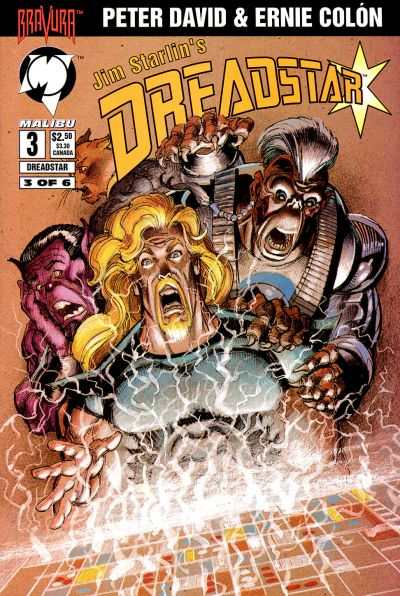 Dreadstar #3 cheap bargain discounted comic books Dreadstar #3 comic books