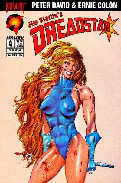 Dreadstar #4 comic books - cover scans photos Dreadstar #4 comic books - covers, picture gallery