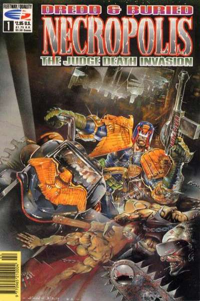 Dredd & Buried: Necropolis: The Judge Death Invasion Comic Books. Dredd & Buried: Necropolis: The Judge Death Invasion Comics.
