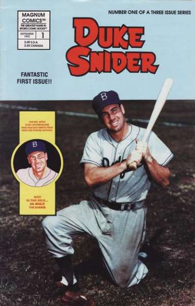 Duke Snider #1 comic books - cover scans photos Duke Snider #1 comic books - covers, picture gallery