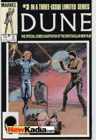 Dune #3 Comic Books - Covers, Scans, Photos  in Dune Comic Books - Covers, Scans, Gallery