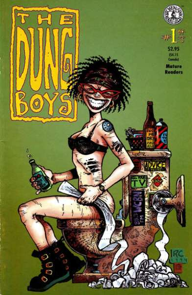 Dung Boys comic books