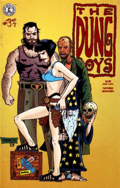 Dung Boys #3 comic books - cover scans photos Dung Boys #3 comic books - covers, picture gallery