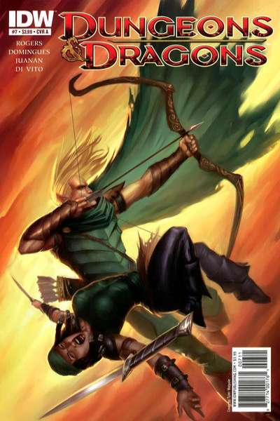 Dungeons & Dragons #7 cheap bargain discounted comic books Dungeons & Dragons #7 comic books