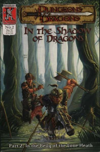 Dungeons & Dragons: In the Shadow of Dragons #2 comic books for sale