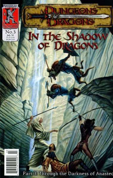 Dungeons & Dragons: In the Shadow of Dragons #3 comic books for sale