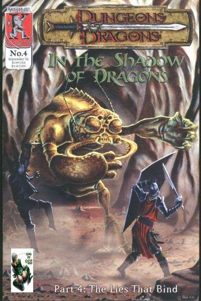 Dungeons & Dragons: In the Shadow of Dragons #4 comic books for sale