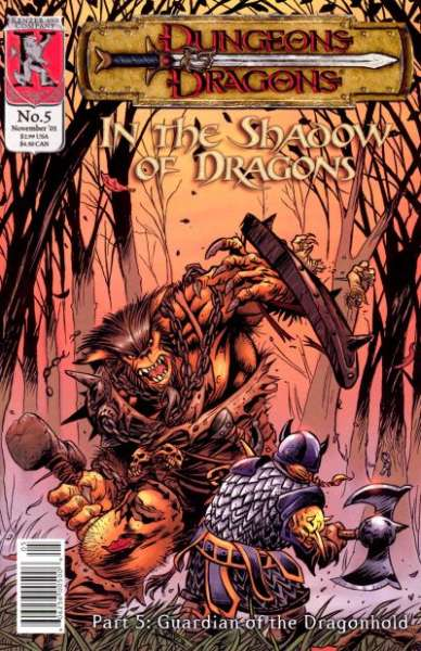 Dungeons & Dragons: In the Shadow of Dragons #5 comic books for sale