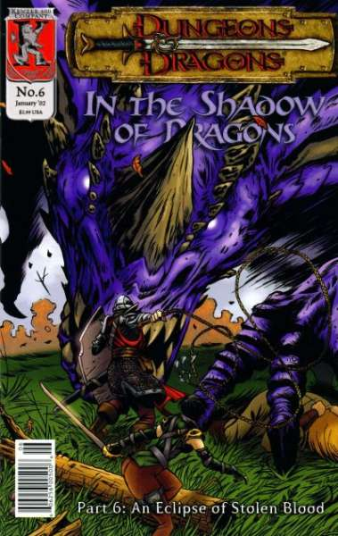 Dungeons & Dragons: In the Shadow of Dragons #6 comic books for sale