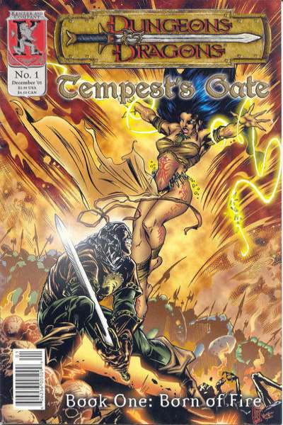 Dungeons & Dragons: Tempest's Gate comic books