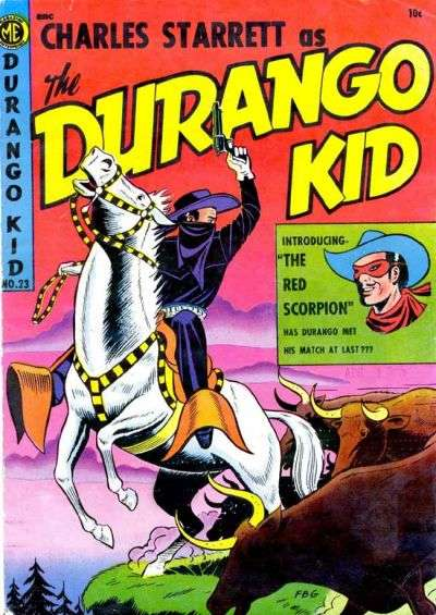 Durango Kid #23 comic books for sale
