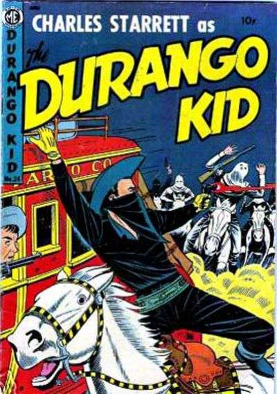 Durango Kid #24 Comic Books - Covers, Scans, Photos  in Durango Kid Comic Books - Covers, Scans, Gallery