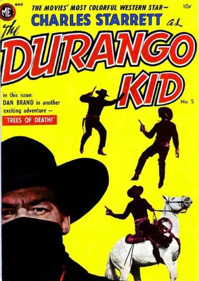 Durango Kid #5 comic books for sale
