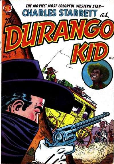 Durango Kid #6 Comic Books - Covers, Scans, Photos  in Durango Kid Comic Books - Covers, Scans, Gallery