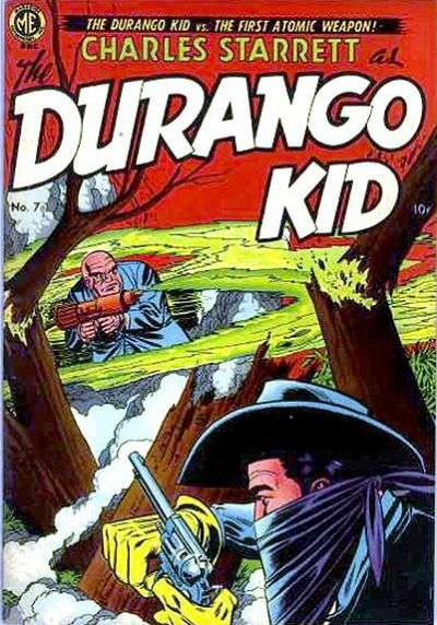 Durango Kid #7 Comic Books - Covers, Scans, Photos  in Durango Kid Comic Books - Covers, Scans, Gallery