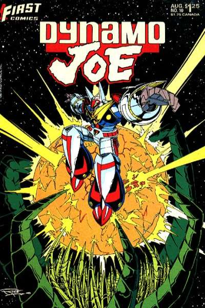 Dynamo Joe #10 Comic Books - Covers, Scans, Photos  in Dynamo Joe Comic Books - Covers, Scans, Gallery