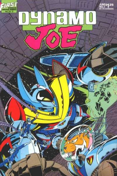 Dynamo Joe #2 Comic Books - Covers, Scans, Photos  in Dynamo Joe Comic Books - Covers, Scans, Gallery