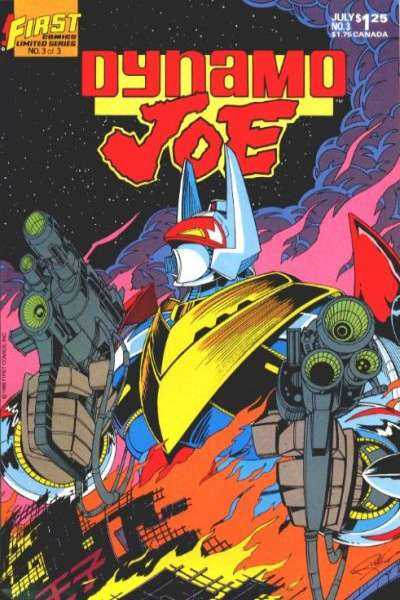 Dynamo Joe #3 Comic Books - Covers, Scans, Photos  in Dynamo Joe Comic Books - Covers, Scans, Gallery
