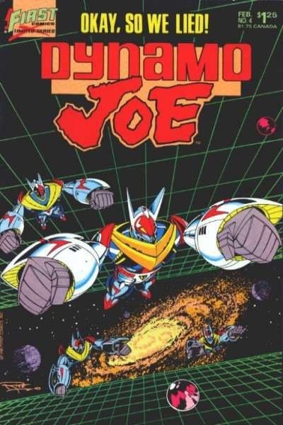 Dynamo Joe #4 comic books for sale