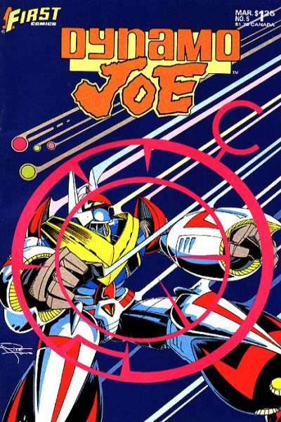 Dynamo Joe #5 comic books for sale