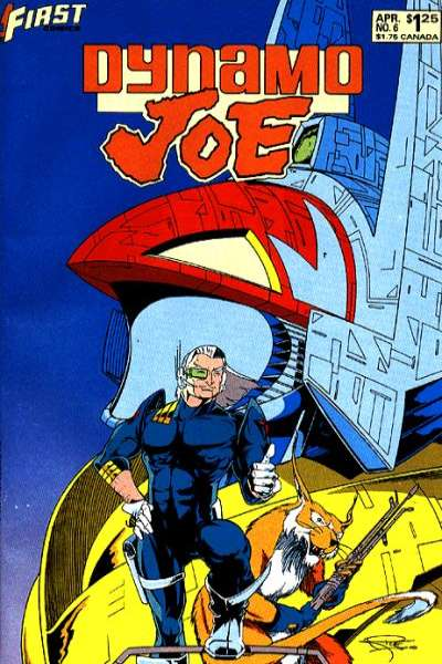 Dynamo Joe #6 comic books for sale