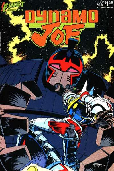 Dynamo Joe #9 Comic Books - Covers, Scans, Photos  in Dynamo Joe Comic Books - Covers, Scans, Gallery