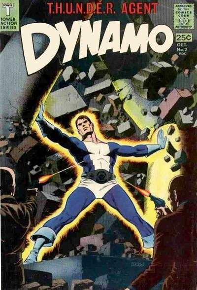 Dynamo #2 Comic Books - Covers, Scans, Photos  in Dynamo Comic Books - Covers, Scans, Gallery