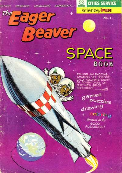 Eager Beaver #1 comic books for sale